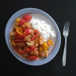 Buntes Reisfleisch